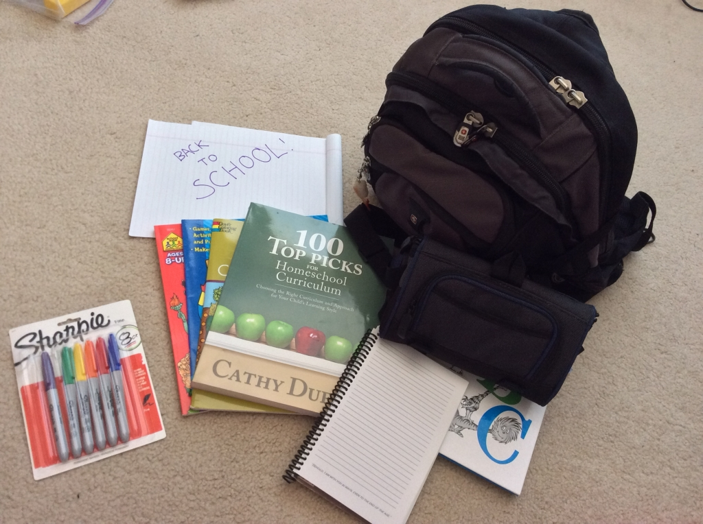 first day of school homeschool traditions